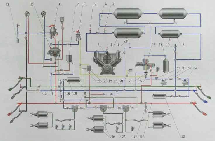 На секции электровоза ВЛ85