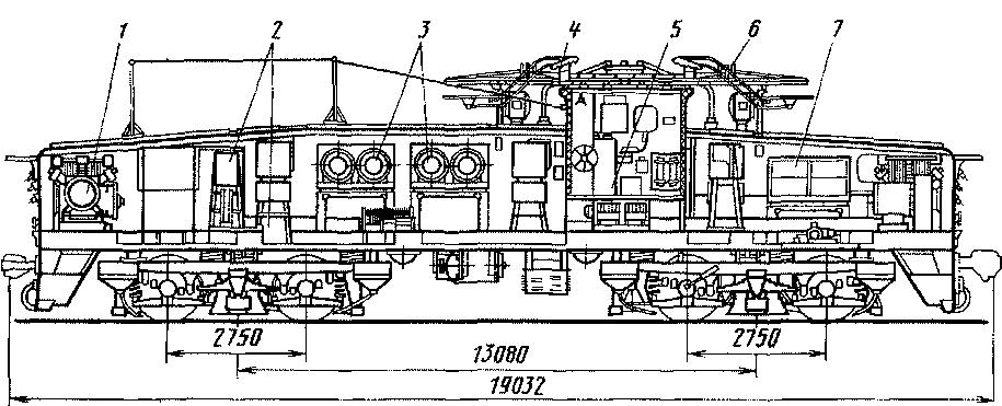 тягового агрегата ПЭ2М