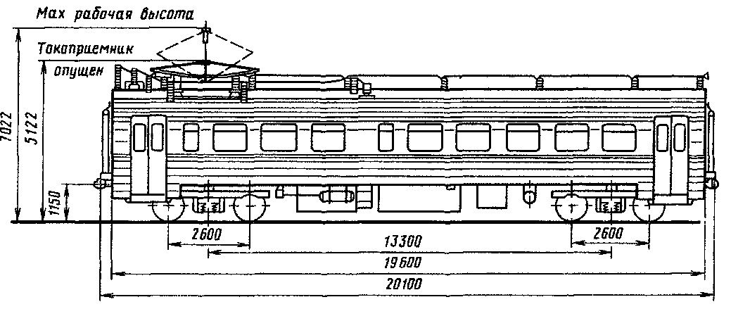 Рис 69 Боковой вид моторного