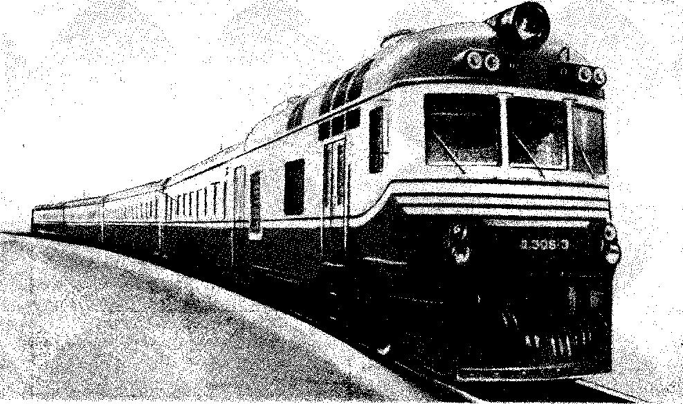 Рис 79 Дизель поезд Д!