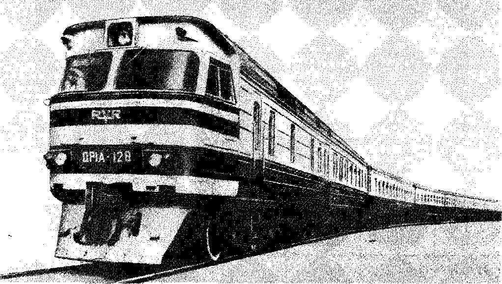 Рис 81 Дизель поезд ДР1А