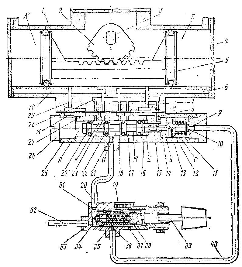 Схема стеклоочистителя СЛ-440Б