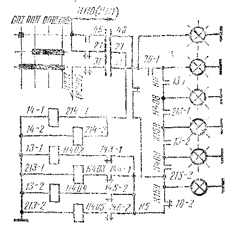 Схема прозвонки цепи кои.