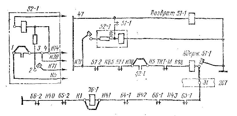 Схема пересоединений проводов