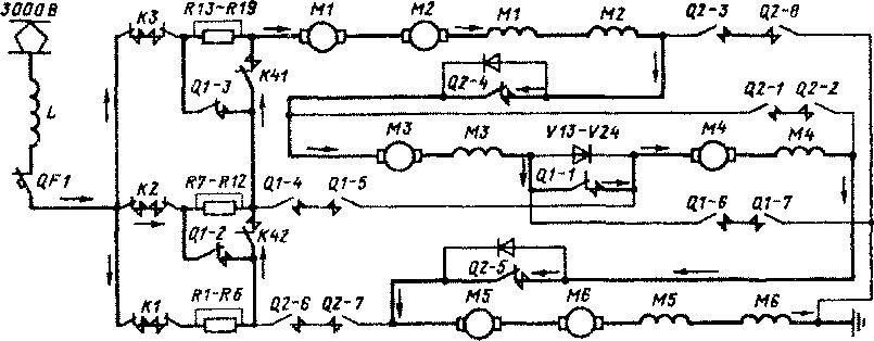 Схема силовых цепей
