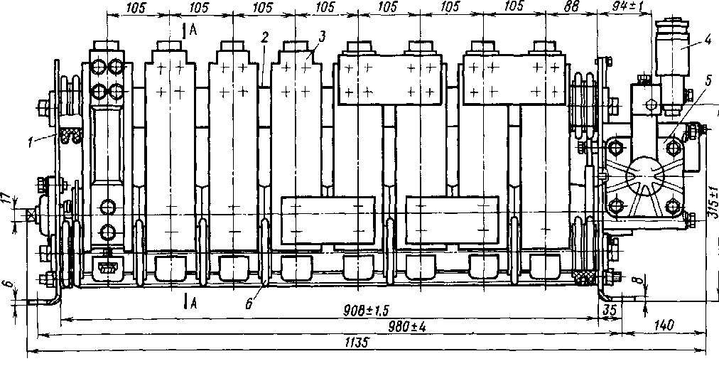 Переключатель вентилей ПВ-78