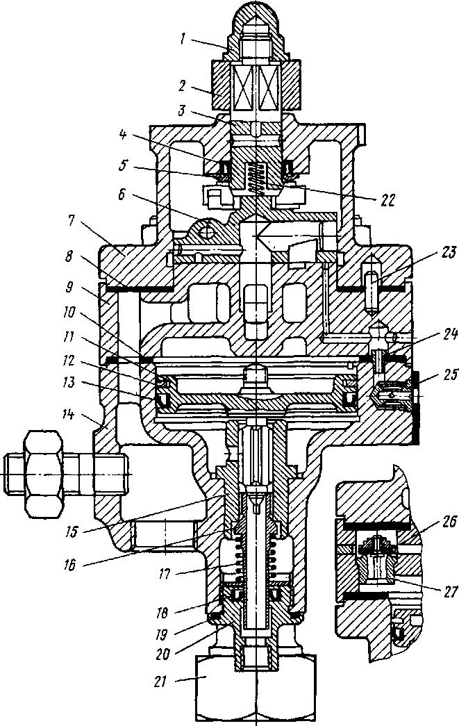 Кран машиниста № 394