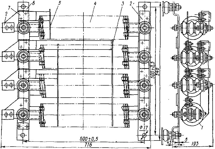 Схема соединения ящиков