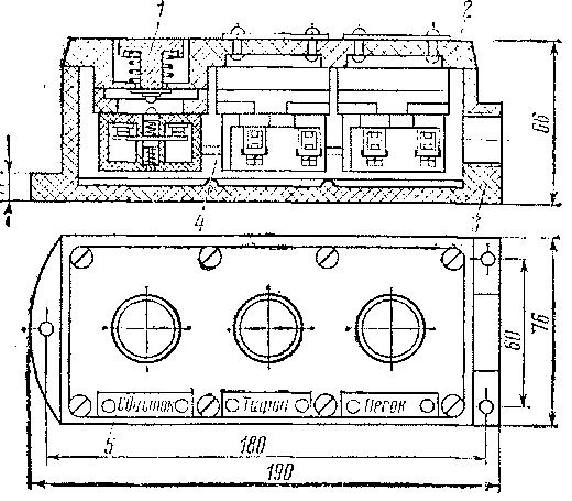 Кнопочный пост ПКЕ-251