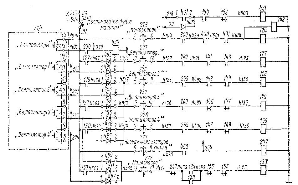 Рис, 312, Схема управления