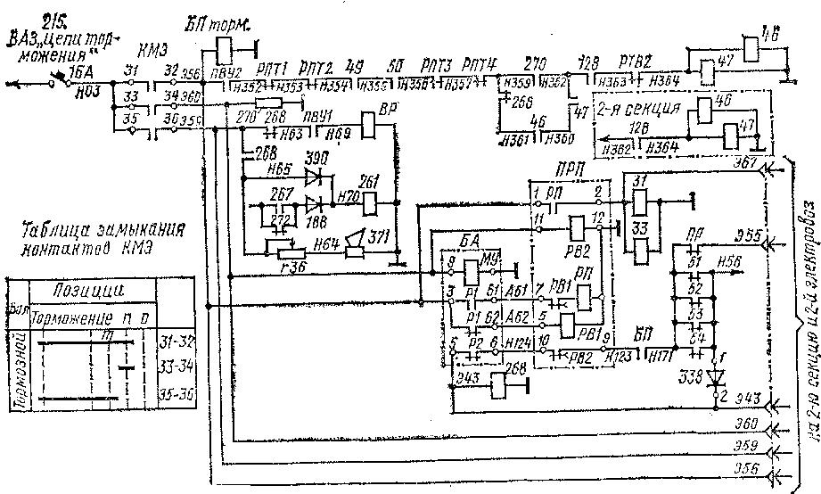 Схема управления электрическим