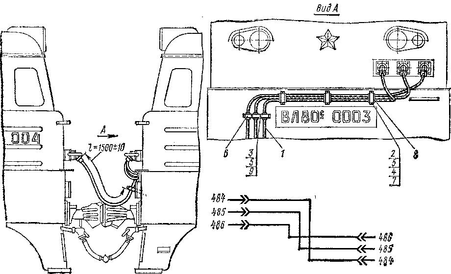Управление двумя электровозами
