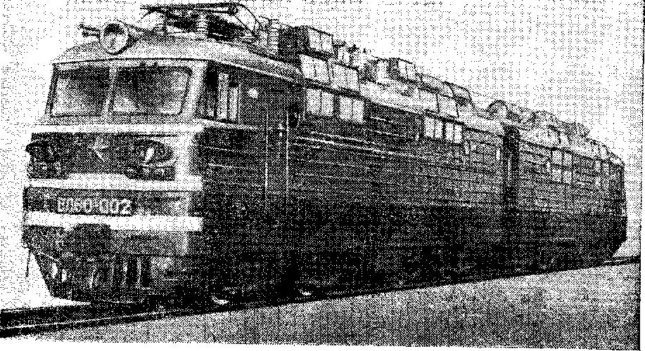 Общий вид электровоза ВЛ80°