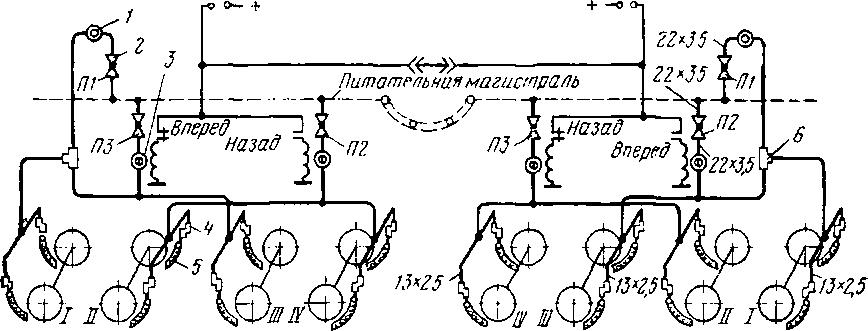 Пневматические схемы